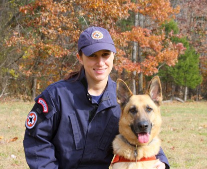 K9 Maggie and Victoria